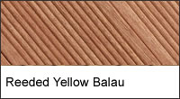 Yellow Balau Deck Board