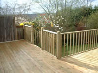 Standard Wooden Spindled Balustrade