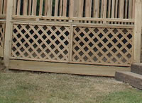 Trellis Skirting (Open)